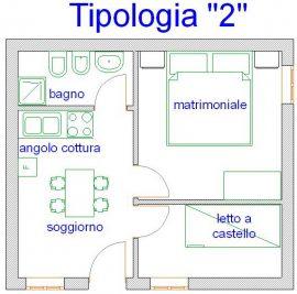 miniappartamenti tipo 2